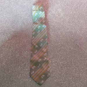 Emporio Armani vintage silk men's tie